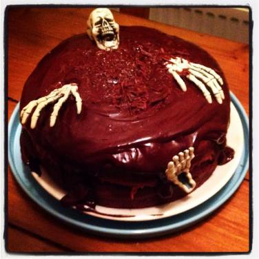 Hallowean Cake