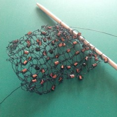 wire bracelet knitting3