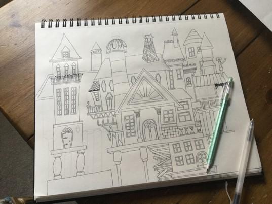 house doodles1