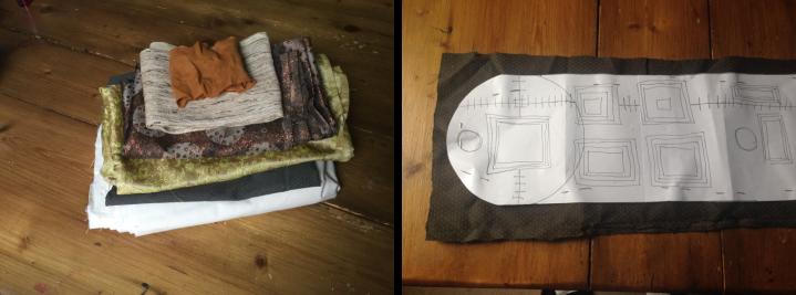 Kindle case fabric