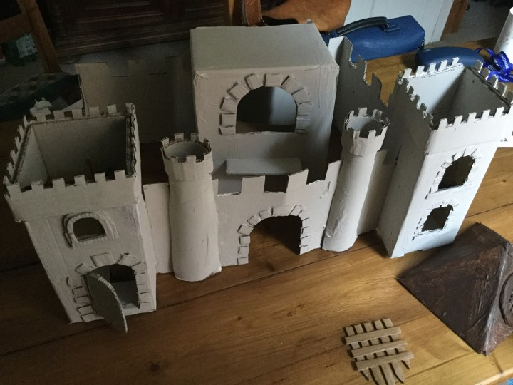 castle painted
