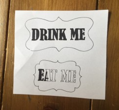 Eat me sign design