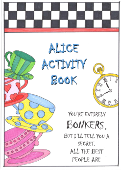 Free Alice Activity Book