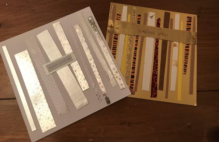 glittering cards