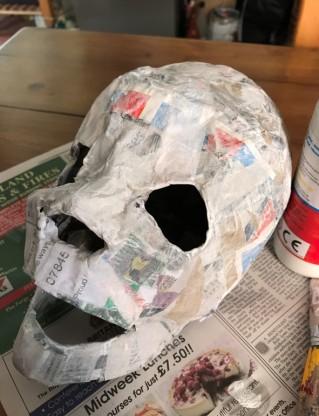 painted skull2