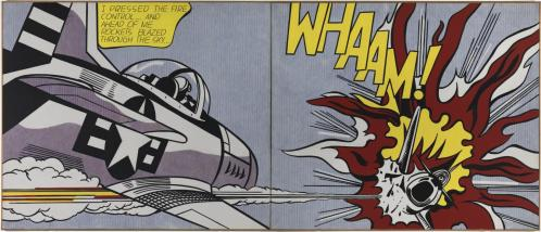 Whaam! 1963 Roy Lichtenstein 1923-1997 Purchased 1966 http://www.tate.org.uk/art/work/T00897