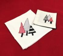 trees napkin