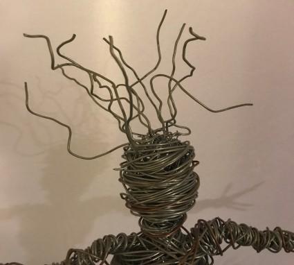 wire man head 1