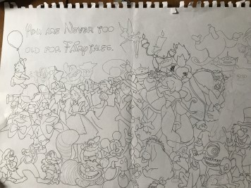 Disney sketch