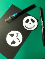 Making Halloween cards