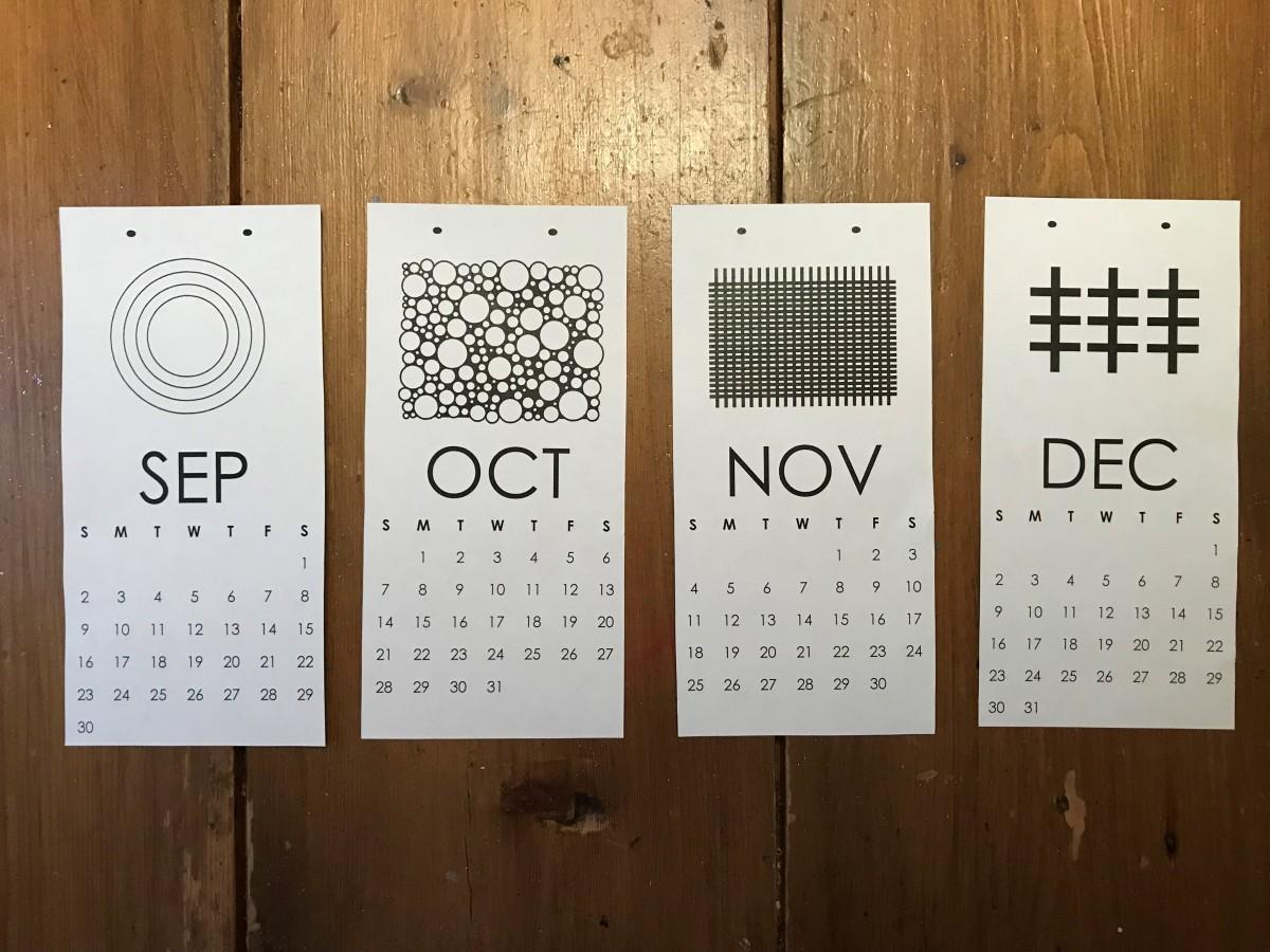 2018 Calendar Free Printables
