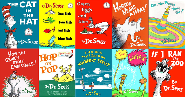 Dr Seuss Book Covers