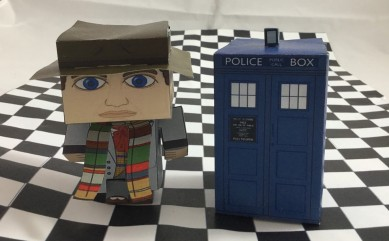 Complete paper Dr Who