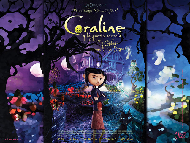 Coraline Poster Spanish Version