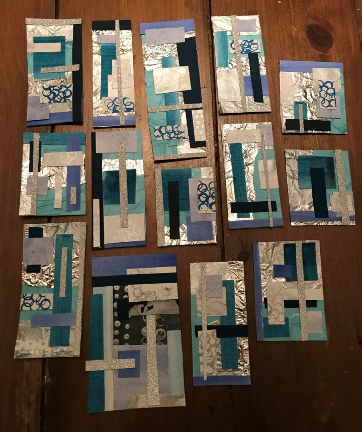 Gift Tags Complete Blue