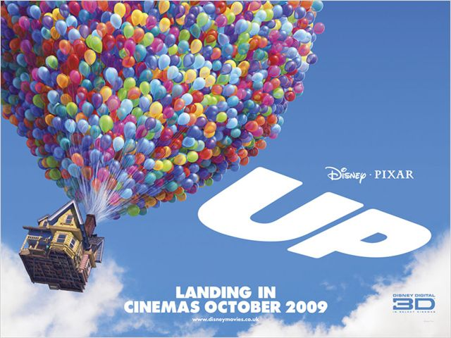 Up Pixar Movie Poster