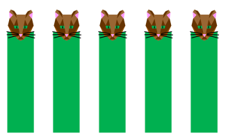 Cat Bookmarks
