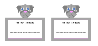 Dog Bookplates v2