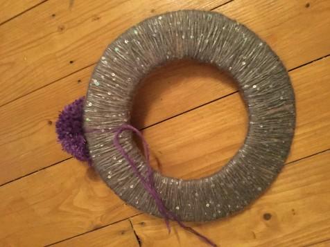 Pom Pom Wreath5