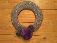Pom Pom Wreath6