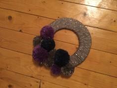 Pom Pom Wreath7