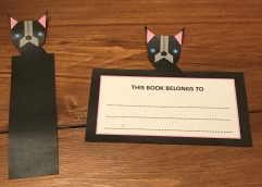 Dog 2 bookmark