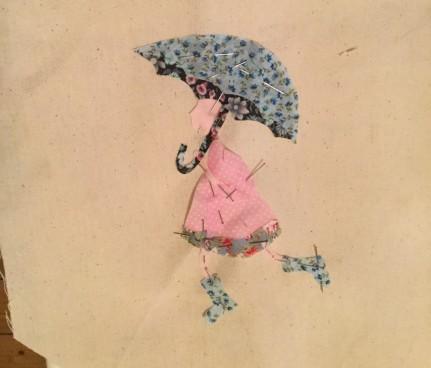 umbrella applique
