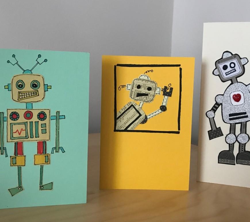 Robot Cards