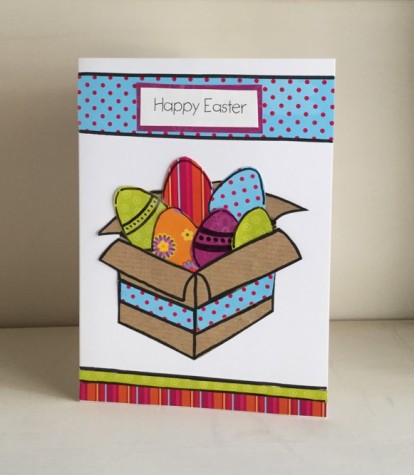 Eggs Easter cards