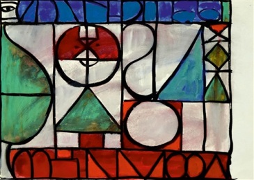 adolph-gottlieb-study-for-stained-glass-window