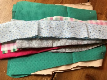 Easter monster fabrics