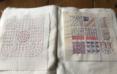 making a stitch book part 4