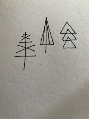 Trees card 1