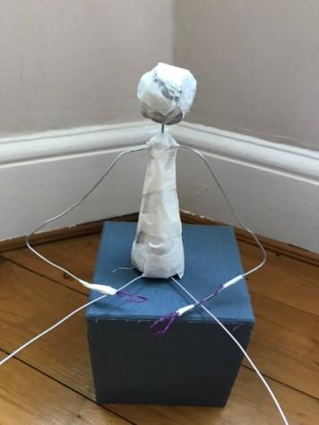 wire man torso
