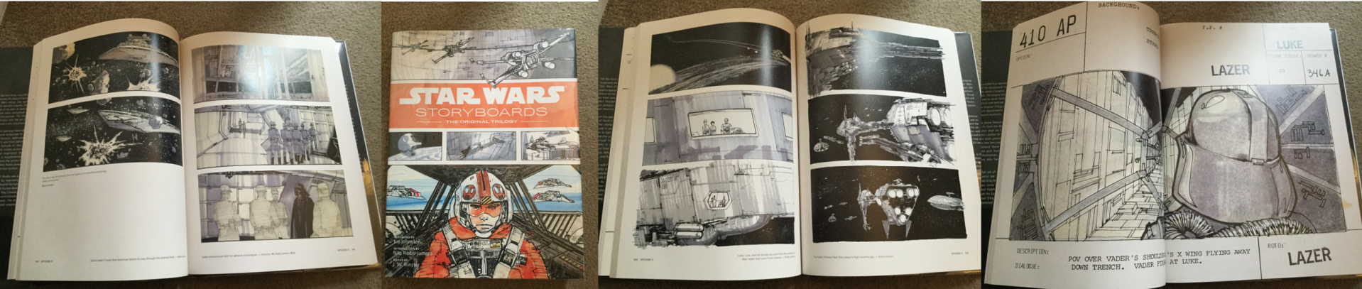 Examples of Star Wars Storyboards
