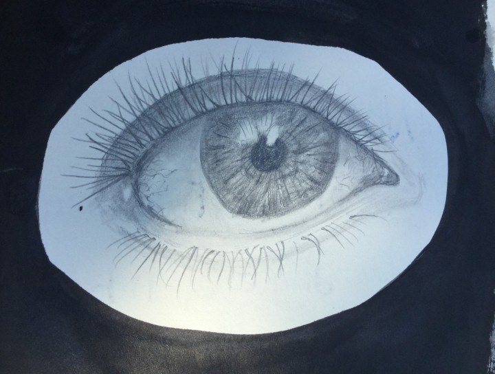study of an eye 2