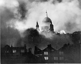 St Paul's during World War 2