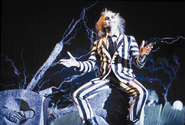 Michael Keaton as the titular Beetlejuice