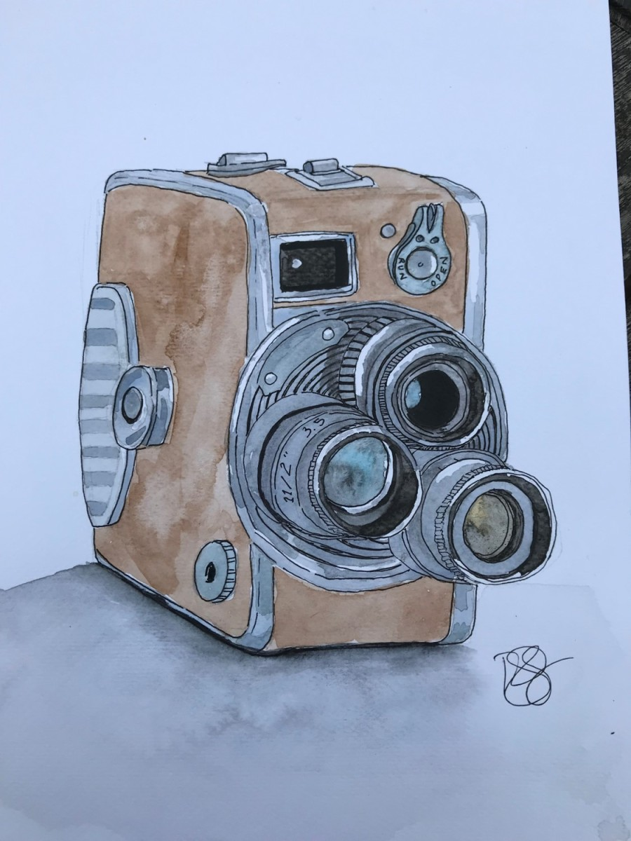 Old Camera Sketches Part 3