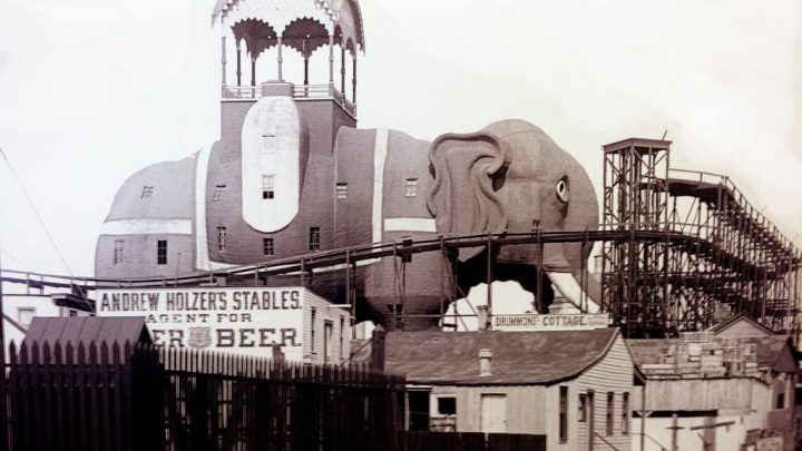 The Seven story Elephantine Colossus at Coney Island