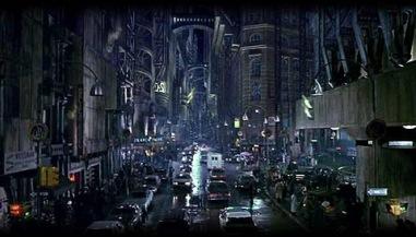 Finished Gotham City Set