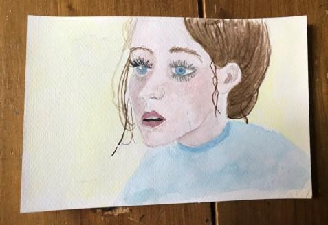 watercolour portrait 1