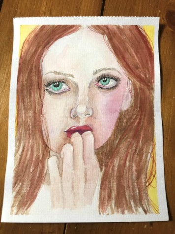 watercolour portrait 10
