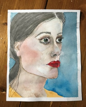 watercolour portrait 11