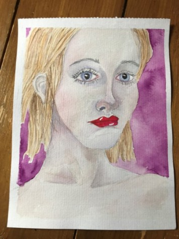 watercolour portrait 13