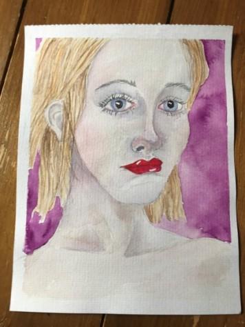 watercolour portrait 13
