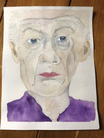 watercolour portrait 14