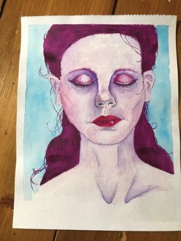 watercolour portrait 15