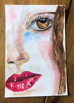 watercolour portrait 2