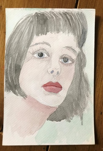 watercolour portrait 3